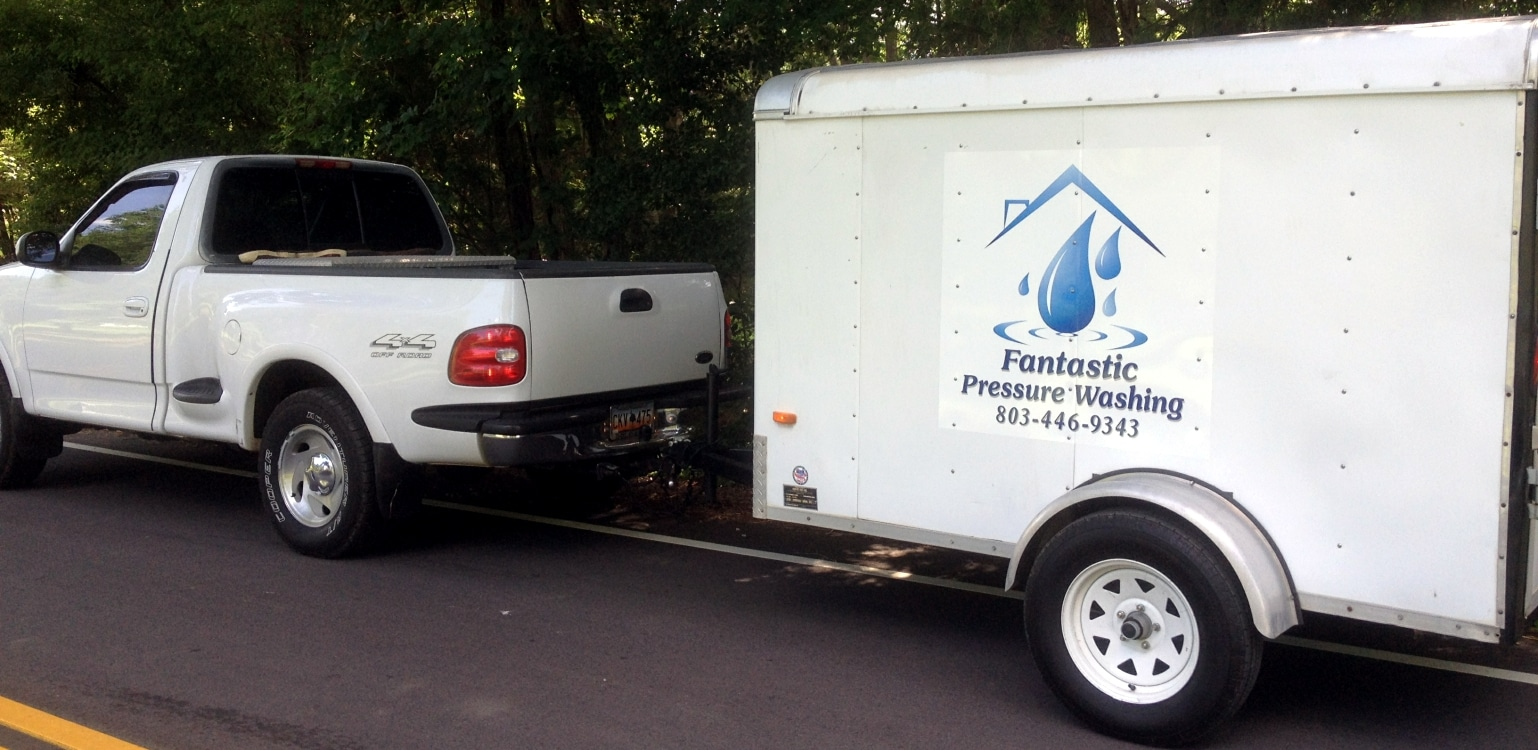 fantastic pressure washing truck